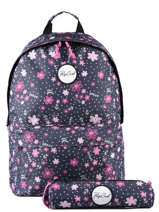 Backpack With Matching Pencil Case Rip curl Blue floral LBPRO4F2