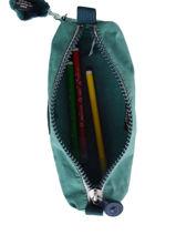 Trousse 1 Compartiment Kipling Bleu back to school 1373-vue-porte