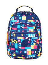 Sac à Dos Mini Kipling Multicolore pac-man I6765