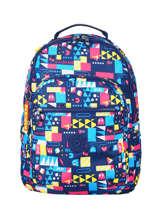 Backpack Kipling Multicolor pac-man 14771