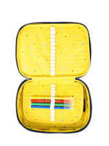 Kit Kipling Multicolor pac-man 16906-vue-porte