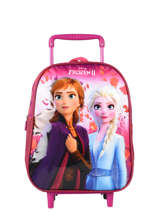 Wheeled Backpack Frozen Violet anna et elsa 100440F2