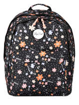 Backpack 2 Compartments Rip curl Black floral LBPRN4F2