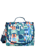 Sac Gouter 1 Compartiment Kipling Bleu back to school 15289