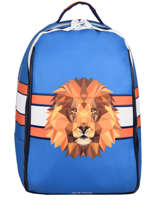 Backpack James 2 Compartments Jeune premier Blue daydream boys B