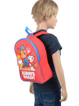 Backpack mini 1 compartment-PAW PATROL-vue-porte