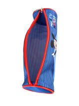 Trousse 1 Compartiment Mickey Bleu stripe MICNI01-vue-porte
