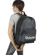 Backpack 1 Compartment Quiksilver Blue youth access QBBP3042-vue-porte