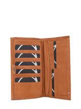 Leather Wallet Etincelle Nubuck Etrier Brown etincelle nubuck EETN903-vue-porte