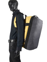 Travel Bag Luggage Quiksilver Yellow luggage QYBL3185-vue-porte