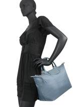 Longchamp Le pliage neo Handbag Blue-vue-porte