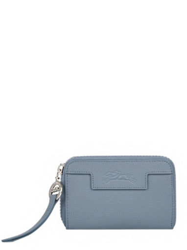 Longchamp Le pliage neo Coin purse Blue