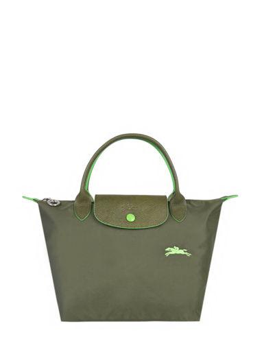 Longchamp Le pliage club Handbag Green