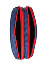 Trousse 2 Compartiments Federat. france football Bleu equipe de france 203X207D-vue-porte