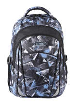 Backpack 2 Compartments Street Gray street INFINITY