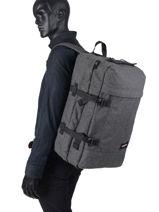 Sac De Voyage Cabine Authentic Luggage Eastpak Noir authentic luggage K13E-vue-porte