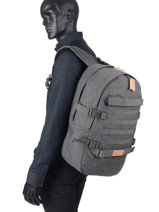 Backpack Floid Tact 1 Compartment Eastpak Gray K24F-vue-porte