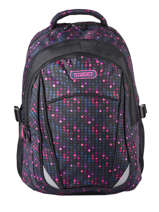 Backpack 2 Compartments Street Pink street INFINITY