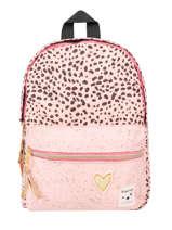 Backpack Growl 1 Compartment Kidzroom Pink growl 9992