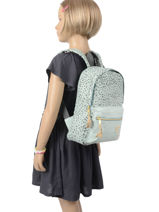 Backpack Growl 1 Compartment Kidzroom Blue growl 9992-vue-porte