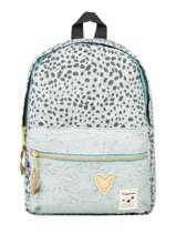 Backpack Growl 1 Compartment Kidzroom Green growl 9992