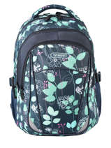 Backpack 2 Compartments Street Blue street INFINITY