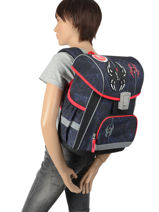 Backpack 1 Compartment Street street ABCBAGS-vue-porte