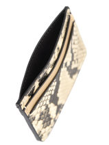 Cardholder Snake Miniprix Gold snake 020-vue-porte