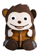 Backpack Affenzahn Brown large friends FAL1