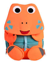 Backpack 1 Compartment Affenzahn Orange large friends NEL1
