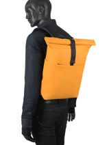 Backpack Hajo Mini 1 Compartment Ucon acrobatics Yellow backpack HAJOMINI-vue-porte