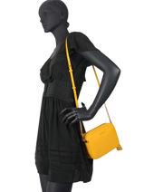 Shoulder Bag Ginny Leather Michael kors Yellow jetset F7GGNM8L-vue-porte