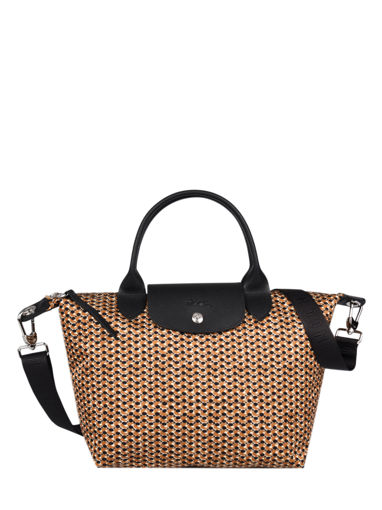 Longchamp Le pliage microknit Handbag Brown