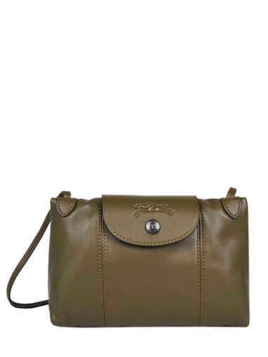 Longchamp Le pliage cuir Messenger bag