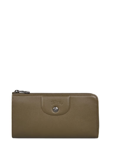 Longchamp Le pliage cuir Wallet