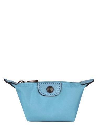 Longchamp Le pliage club Porte-monnaie Bleu