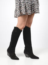 High boots-BRONX-vue-porte