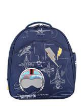 Backpack Jeune premier Blue daydream boys B
