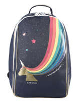 Backpack James 2 Compartments Jeune premier Blue daydream girls G
