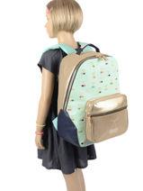 Backpack James 2 Compartments Jeune premier daydream girls G-vue-porte
