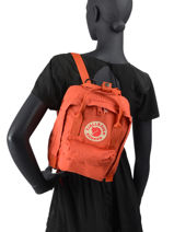 Backpack Kånken 1 Compartment Fjallraven Orange kanken 23561-vue-porte