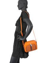 Sac Bandouliere Citadine Hexagona Orange citadine 596835-vue-porte