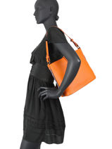 Shoulder Bag Citadine Hexagona Orange citadine 596832-vue-porte