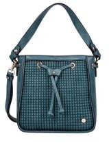 Shoulder Bag Eclat Hexagona Blue eclat 216938