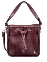 Shoulder Bag Eclat Hexagona Red eclat 216938
