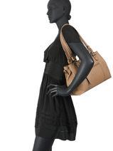 Sac Shopping Gracieuse Hexagona Marron gracieuse 315292-vue-porte