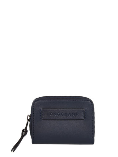 Longchamp Longchamp 3d Bill case / card case Blue