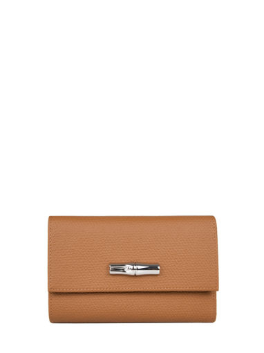 Longchamp Roseau nÉon Wallet Brown
