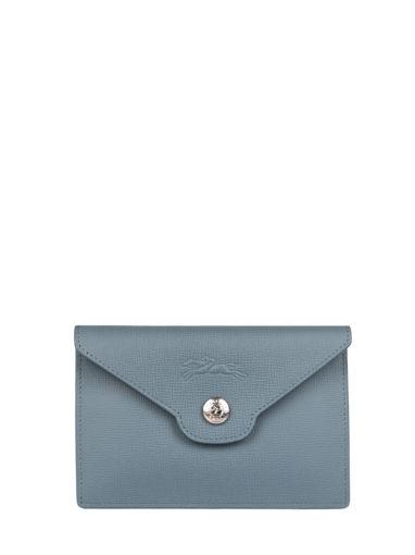 Longchamp Le pliage neo Porte billets/cartes Bleu