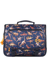 Satchel 2 Compartments Lily Boys Stones and bones Blue boys B